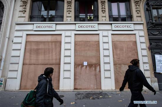法国全国罢工挑战马克龙养老金改革 2