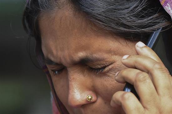 北德里大火造成至少43人死亡,50多人受伤 4