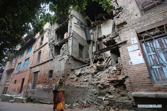 尼泊尔第22个地震安全日 2