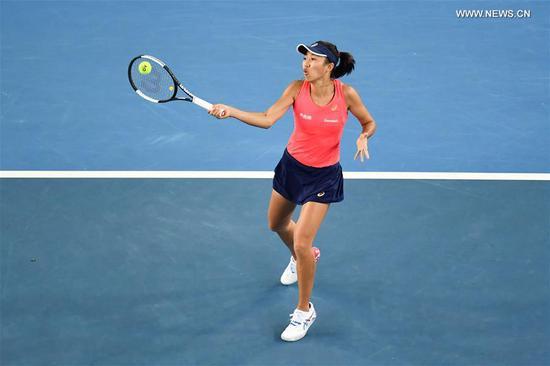 澳网:女单第三轮索菲亚·基宁和张帅的较量 1