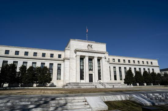 Photo taken on Feb. 17, 2021 shows the U.S. Federal Reserve in Washington, D.C., the United States. (Xinhua/Liu Jie)