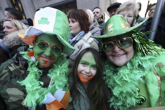 St. Patrick's Day celebrated in U.S.