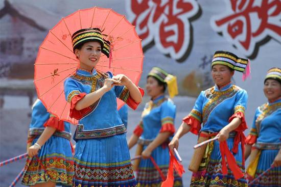 Celebration of Weifeng Festival staged in S China's Guangxi