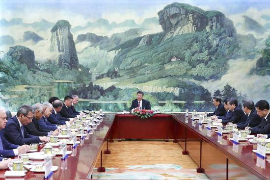 Xi calls for enhanced SCO security cooperation
