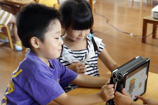 Japan preschools using tablets to prep tots for digital age