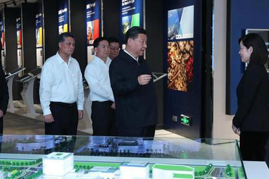 Xi Jinping makes inspection tour in Zhuhai, Guangdong