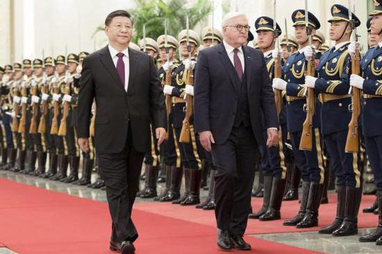 China, Germany pledge to jointly protect free trade, world order