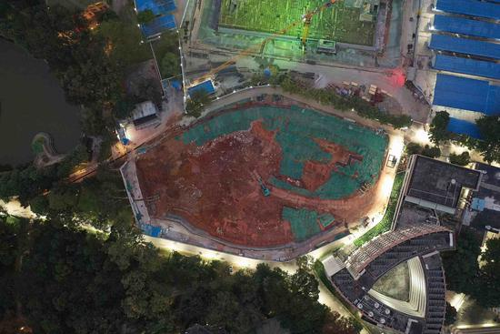 Ancient tomb found at Sun Yat-sen University