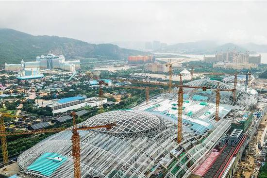 China to build Guangdong's Hengqin District into international tourism island