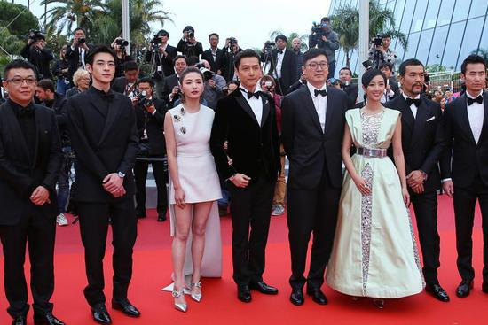 "Chinese film ""Wild Goose Lake"" contends for Golden Palm Award"