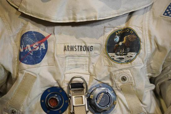 U.S. astronaut Neil Armstrong's Apollo 11 spacesuit back on display