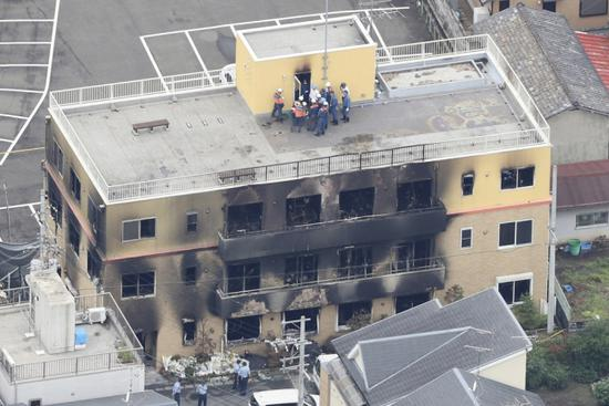 Japanese police obtain arrest warrant for anime studio arson suspect