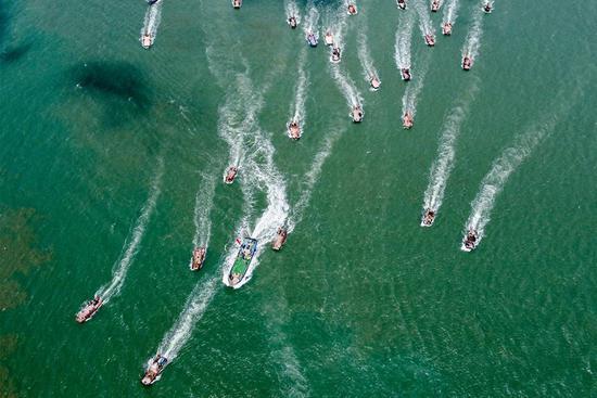 Fuqing Fishing Festival kicks off in southeast China's Fujian