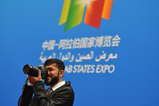Fourth China-Arab states expo opens in NW China