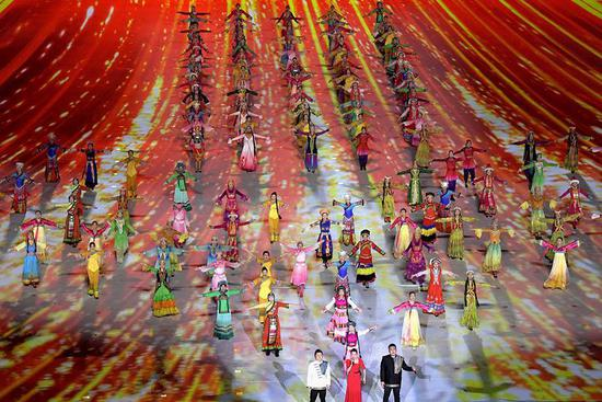 China's 11th Ethnic Games conclude in Zhengzhou