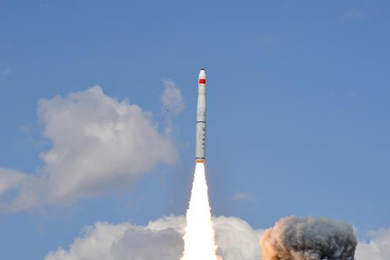 China launches new remote-sensing satellites