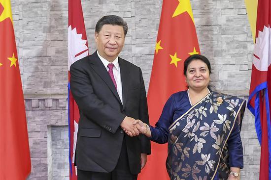 China, Nepal upgrade ties