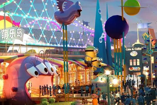 Universal Studios Beijing unveils 7 themed lands