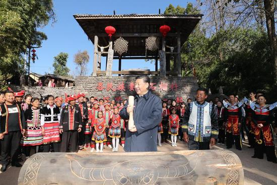 Xi extends Chinese New Year greetings to all Chinese