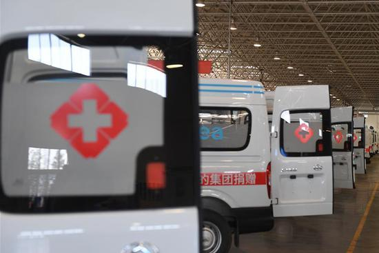 Motor company rushes to make negative pressure ambulances in Wuxi