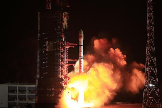 China launches 4 new technology experiment satellites