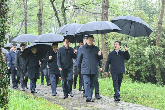 Xi inspects wetland conservation, urban management in Hangzhou