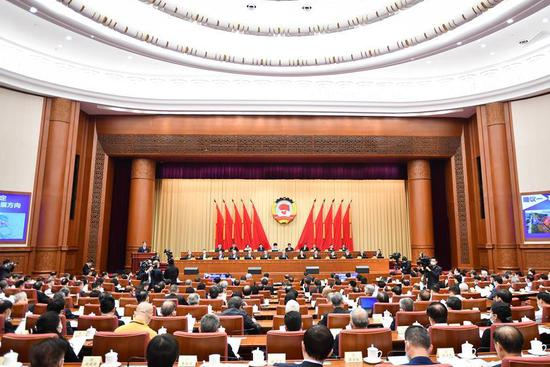 China's top political advisory body holds video conference at annual session