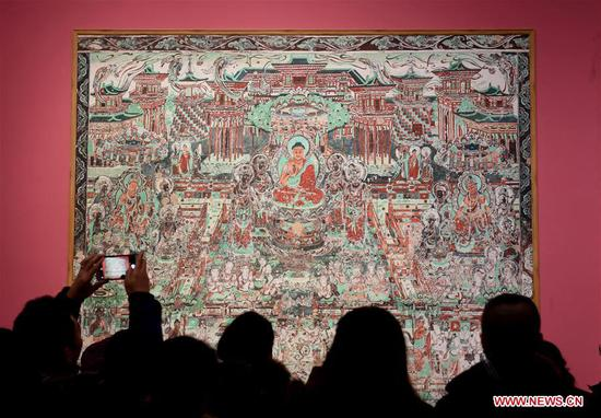 Tourists visit Hebei Museum in Shijiazhuang, north China's Hebei Province, Feb. 6, 2019, the second day of the Chinese Lunar New Year. (Xinhua/Wang Xiao)