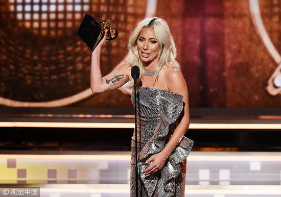Lady Gaga, Bradley Cooper win 2019 Grammy Award for