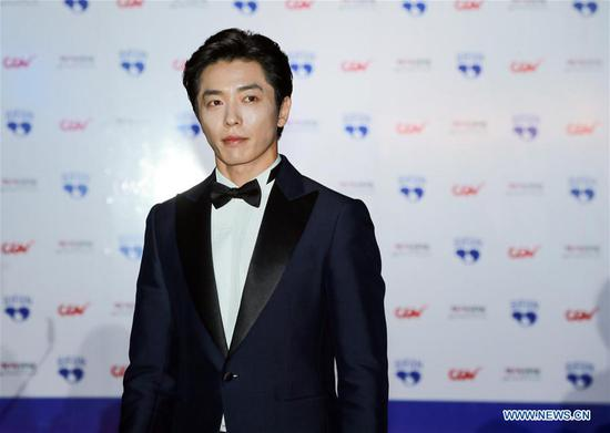 South Korean actor Kim Jae-wook appears at the 22nd Bucheon International Fantastic Film Festival red carpet in Bucheon, South Korea, July 12, 2018. The 10-day 22nd Bucheon International Fantastic Film Festival, with its theme as