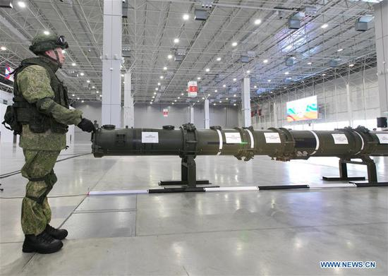 Russian denies its missile violates INF treaty