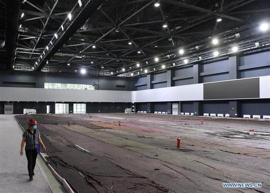 Photo taken on May 27, 2020 shows the interior look of