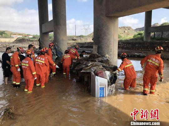 8 dead, 2 missing in rain-triggered floods in Gansu