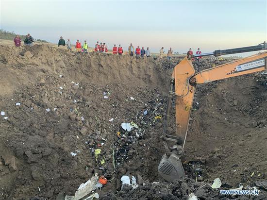 埃塞俄比亚航空公司最严重的飞机失事造成157人死亡。 1