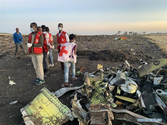 埃塞俄比亚航空公司最严重的飞机失事造成157人死亡。 3
