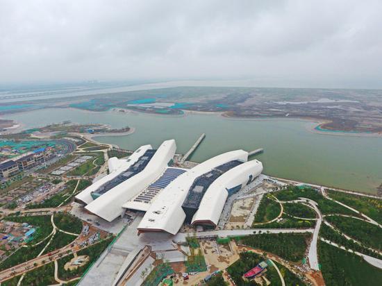 China's national maritime museum in Binhai New Area of north China's Tianjin Municipality. [File photo: IC]
