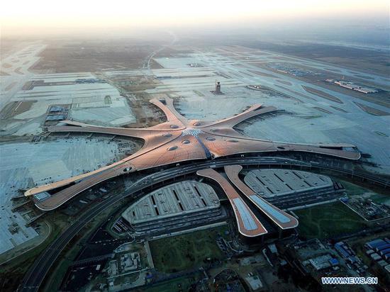 北京新国际机场建成 2