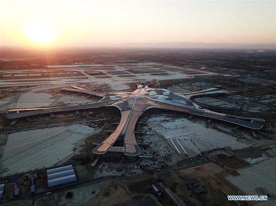 北京新国际机场建成 1