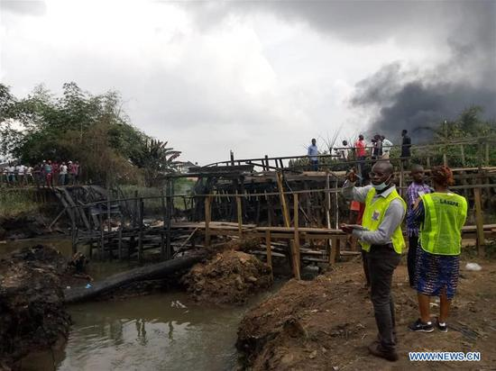 尼日利亚管道爆炸至少造成1人死亡:官方