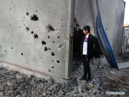 致命空袭袭利比亚的黎波里