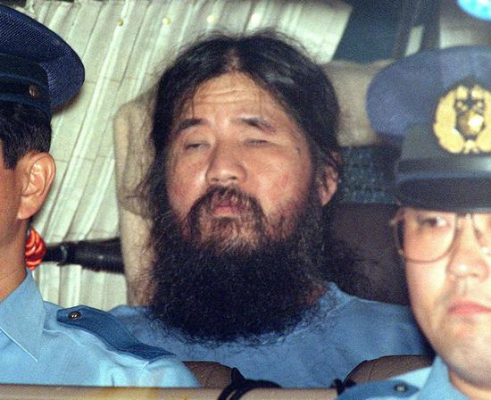 File photo of Japanese doomsday cult leader Shoko Asahara