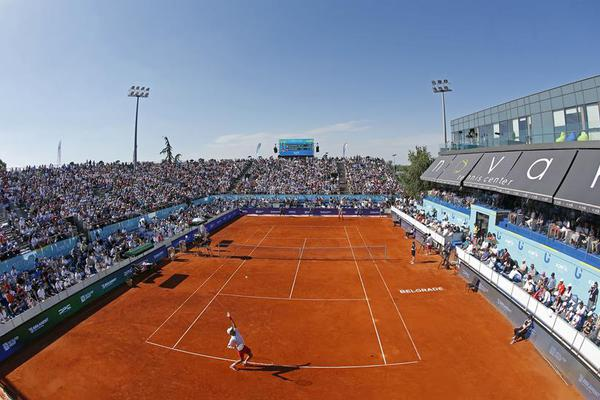 In pics: tennis tournament Adria Tour in Belgrade
