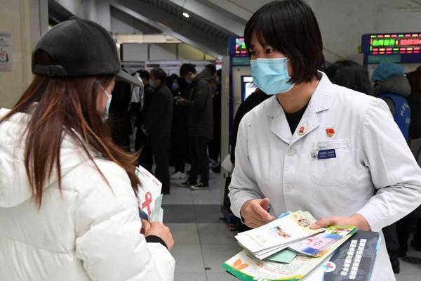 AIDS awareness campaign held on World AIDS Day at Haidian Hospital in Beijing