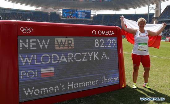 Poland's Anita Wlodarczyk wins gold medal of women's ...