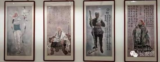With the help of police officers, a foreign inmate published his writings while serving at Yanchang Prison; another inmate with only a primary school's education became a painter and calligrapher – several of his works are still hanging on the prison's wall.