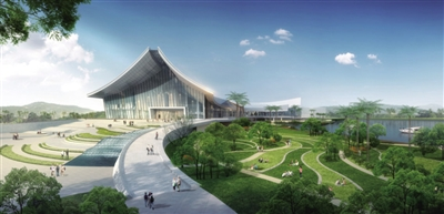 The national South China Sea museum will be open in March, 2017