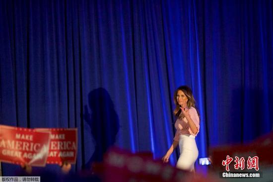 Melania Trump takes on cyberbullying in campaign speech