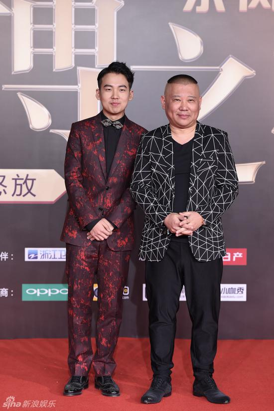Comedian Guo Degang and his son