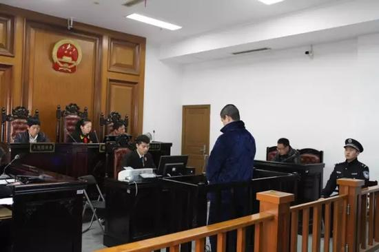 Chen stood trial at Lucheng court, Wenzhou city of Zhejiang province on February 6, 2017.