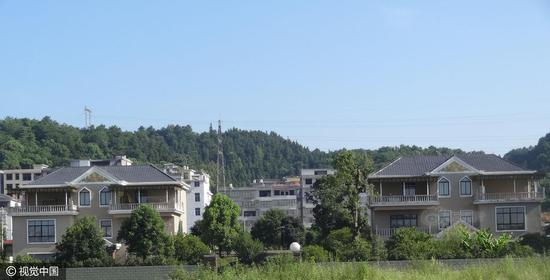 Apart from a luxurious house in Pingxiang city, Wang has three other villas in Yichun city, Jiangxi province.